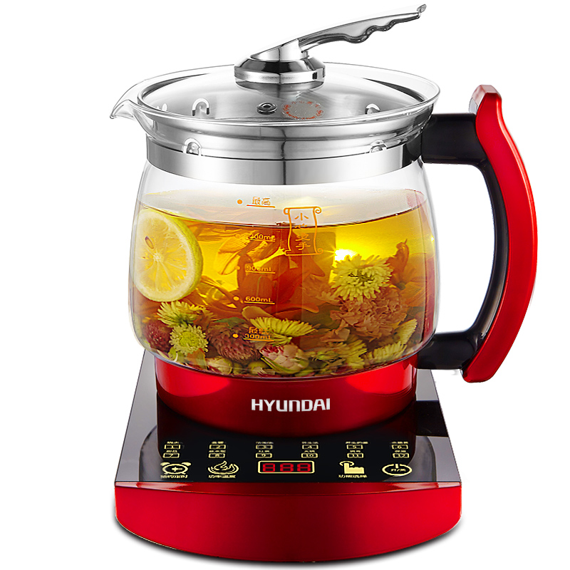1.8L Electric Health Preserving Pot Automatic Thick Glass Teapot Multi Functional Electric Kettle Boil Tea Porridge Pot Hot Pot x32 3 5l automatic electric kettle ceramics boil herb pot porcelain health preserving pot easy to clean microcomputer control