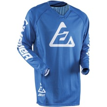 Blue Motocross T-shirts Mountain Bike  Motorcycle Long Sleeve Motorbike Shirts Clearance Sales