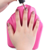 High Quality Silicone Nail Pillow Soft Hand Arm Rest Cushion Nail Holder Professional Manicure Nail Tool