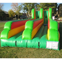 Outdoor Sports Wonderful Exciting Inflatable Bungee Run fun games