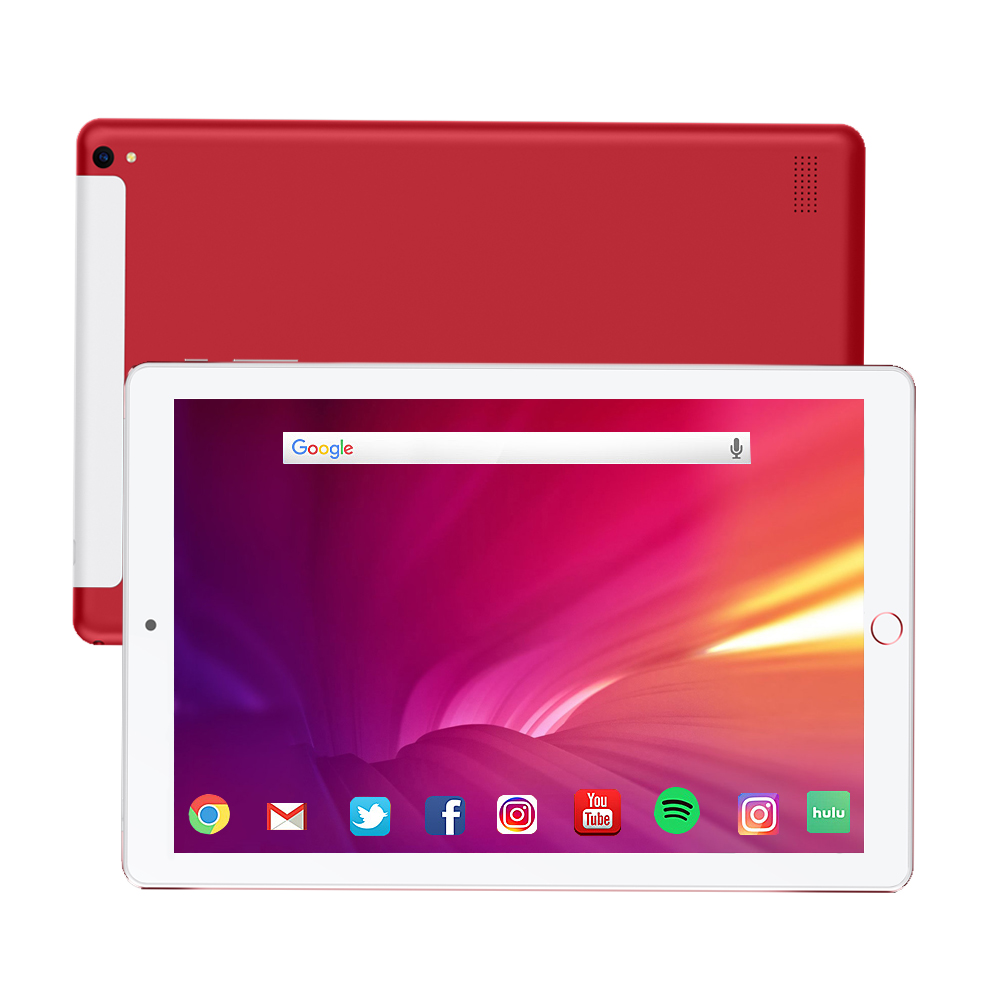 10.1 Inch Tablet Pc Quad Core 2019 Original Powerful Android 8.0 3GB RAM 32GB ROM IPS Dual SIM Phone Call Tab Phone Pc Tablets