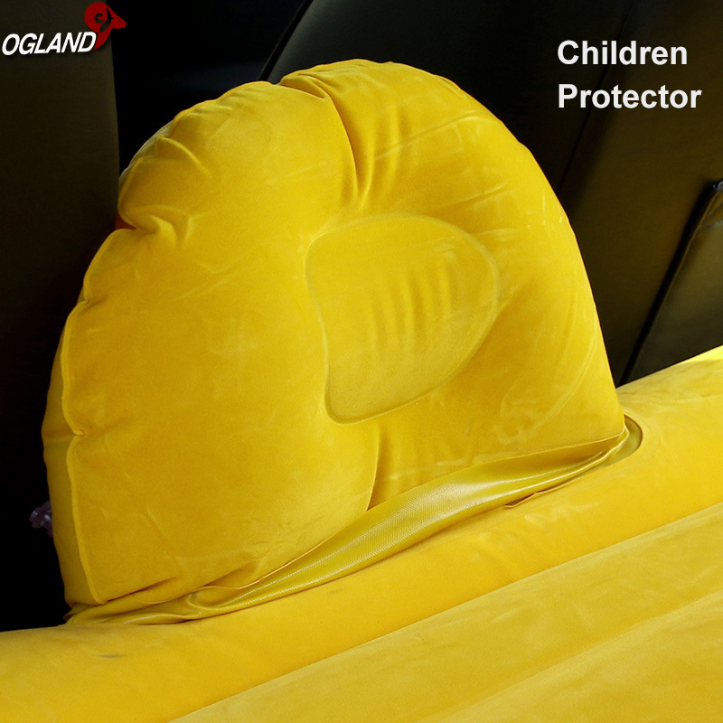 Image 3 - OGLAND Car Air Inflatable Travel Mattress Bed for Car Back Seat Mattress Multifunctional Sofa Pillow Outdoor Camping Mat Cushion-in Car Travel Bed from Automobiles & Motorcycles
