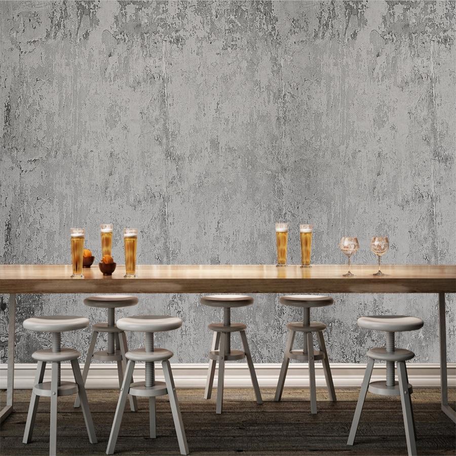 Custom Photo Wallpaper Industrial Wind Wallpaper Cement