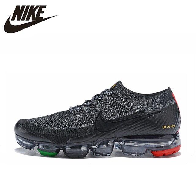 Nike aire VaporMax 2,0 zapatillas de deporte zapatos para correr al aire libre negro rojo para hombres 2018-4 40-44 tamaño EUR M