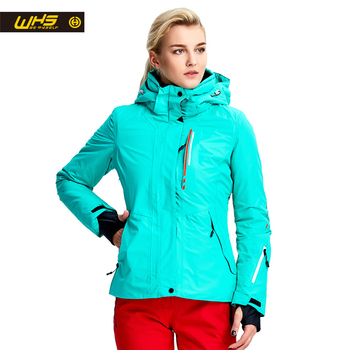 WHS New Women ski Jackets winter Outdoor Warm Snow Jacket coat female waterproof  snow jacket ladies breathable sport clothes b528bf6f4