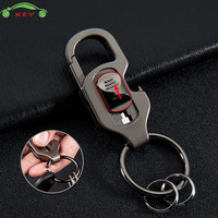 Car Styling Men Key Ring With Bottle Opener Auto Business Keychain For Audi Opel Land Rover
