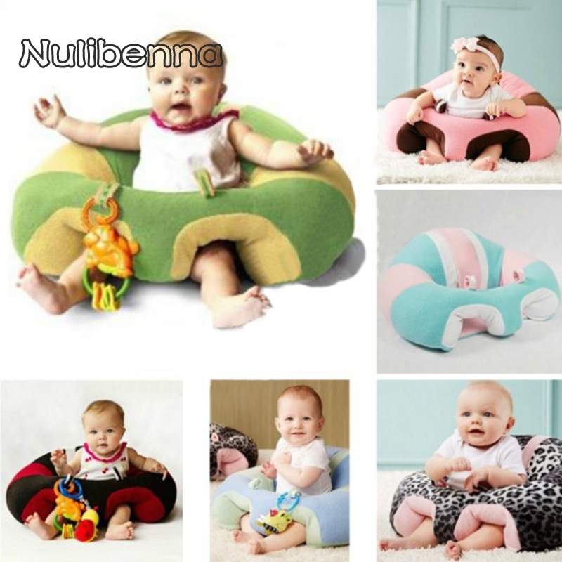 Baby Sofa Portable Baby Chair Cushion Baby Learn Seat Soft and ...