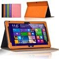 Aleta da tampa do caso para Cube iwork 11/iwork11 11.6 polegada tablet tampa magnética stand case shell protetora da pele + protetor de tela