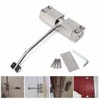 Cierre de puerta hidráulico Simple  1 Uds.  cierre de puerta ajustable  cierre automático  herraje de puerta ignífugo