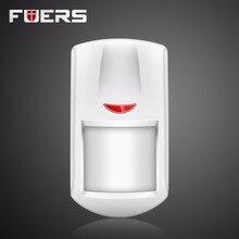Wireless Intelligent PIR Motion Sensor Широкий зоны обнаружения Для Wifi GSM Охранной Сигнализации Дома сигнализация Аксессуары