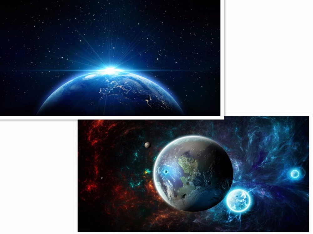 Aml Home 2017 New 5D picture Beautiful Earth Planet Diy ...