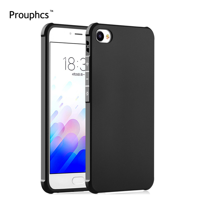 Prouphcs Meizu M3X Case Soft Silicone TPU Cover Case for Meizu M3X 5.5 inch Full Protective Shockproof Phone Case