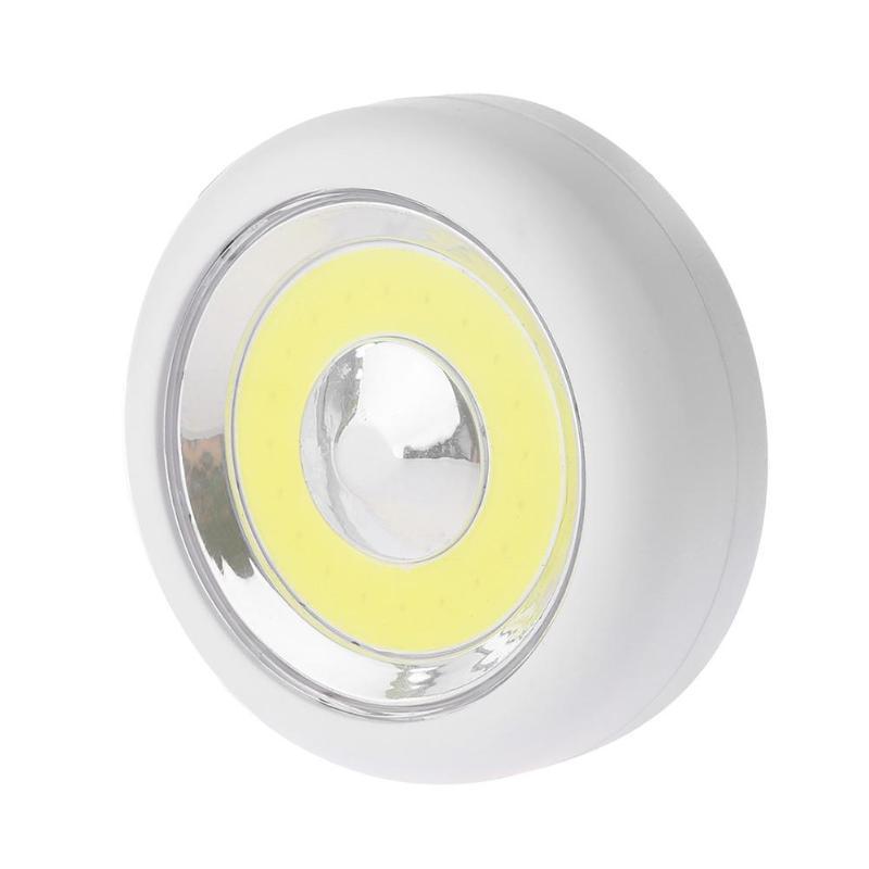Wireless Adhesive Tap Wardrobe Lamp Stairs Bedroom Drawer Closet Cabinet Stick On LED Night Light Wall Lamp Emergency Lighting