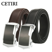 CETIRI Luxury Brand Leather Belt Designer Belts Mens High Quality Automatic Buckle Fashion Strap Waist Genuine