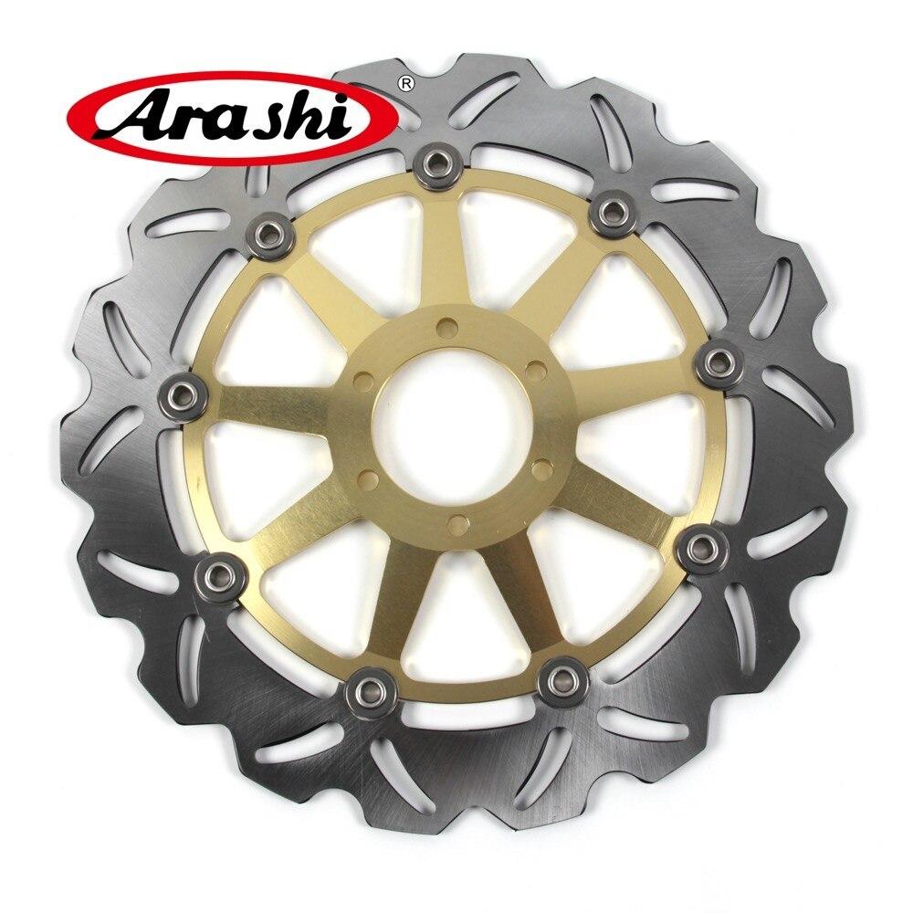 Arashi CNC Left Front Brake Disc Brake Rotors For BMW G650 X MOTO G659 650X 2007 2008 2009 Motorcycle