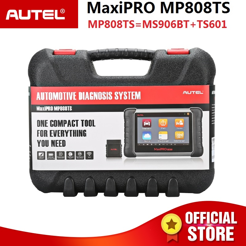 Autel MaxiPRO MP808TS Automotive Diagnostic Scanner with TPMS Service Function and Bluetooth Prime Version of Maxisys