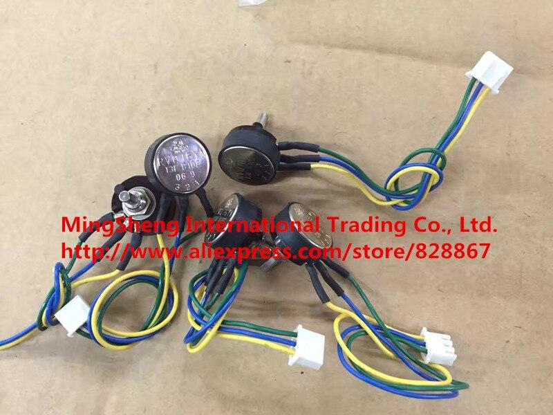 Original new 100% RVQ16YN 13F B102 B1K imported single potentiometer, with line (SWITCH) [vk] imported israeli pe30 pe single link volume potentiometer 22k switch