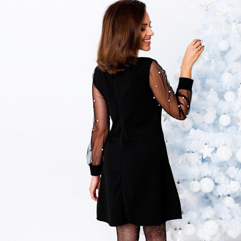 черное платье с рукавичками фото тоже присматриваем