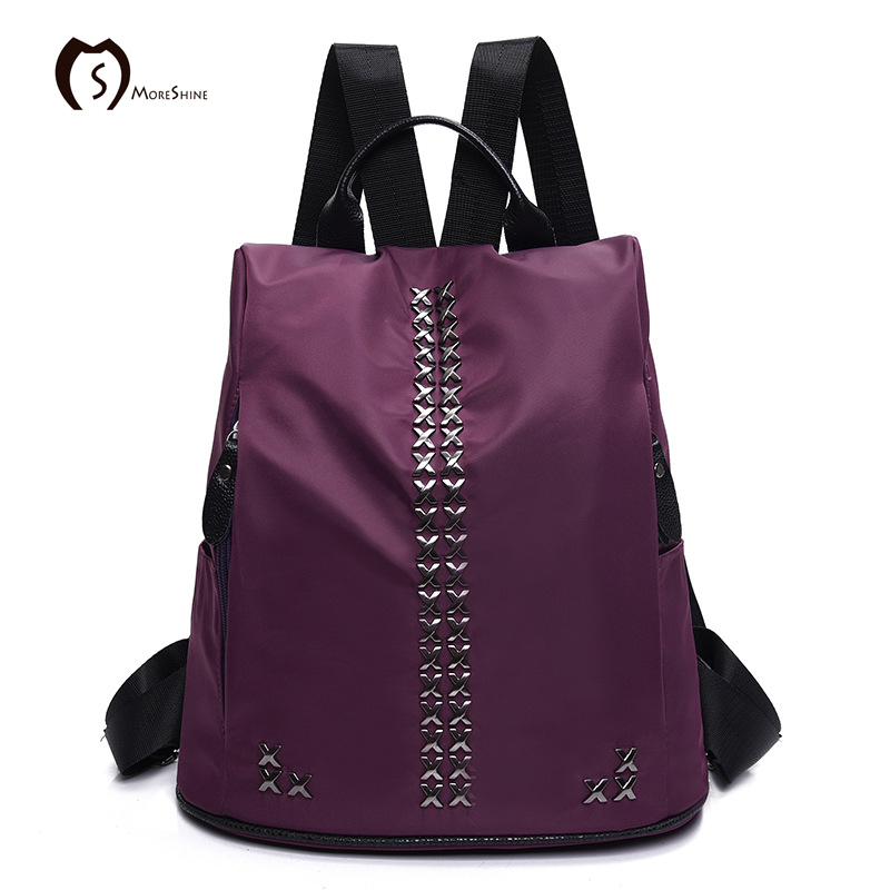 Popular Purple Leather Backpack-Buy Cheap Purple Leather Backpack ...