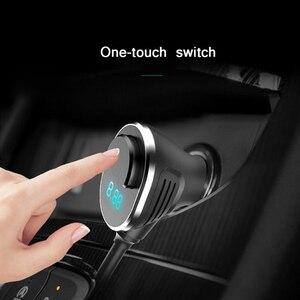Image 5 - URANT Doppia Porta USB 2 Vie Auto Accendisigari in Automobile Divisore Dello Zoccolo del Caricatore DC 12 24 v 2.4A Veloce di ricarica di CONTROLLO di 3.0 Per Tutte Le Auto