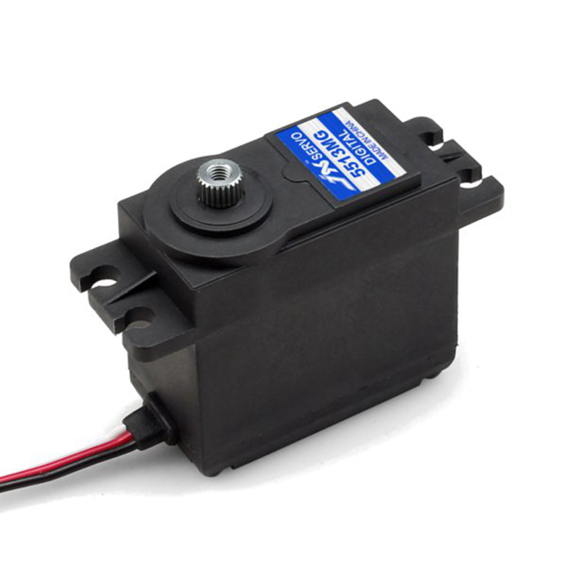 JX Servo PDI-5513MG 13kg Metal Gear High Torque Digital Servo For RC Airplane Helicopter jx servo pdi 6115 mg kg 15 large torque torque metal gear steering gear digital hollow cup standards