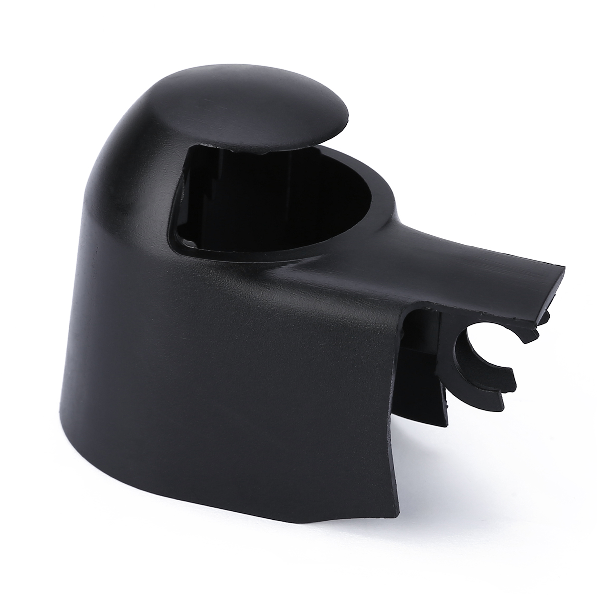 For Skoda 1pc Rear Window Wiper Arm Cap Cover Black Plastic Fabia Roomster Superb