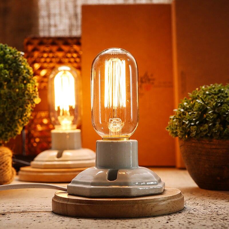 Vintage Tischlampe Dimmbare Schreibtischlampe Für Schlafzimmer - Innenbeleuchtung - Foto 3