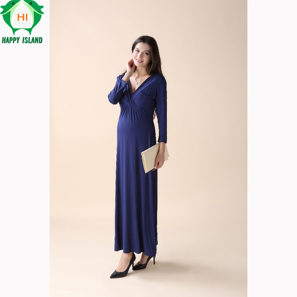 Aliexpress buy christmas spring tencel maternity clothing aliexpress buy christmas spring tencel maternity clothing maternity dresses for pregnant women long prom evening party vestidos gown from reliable ombrellifo Images