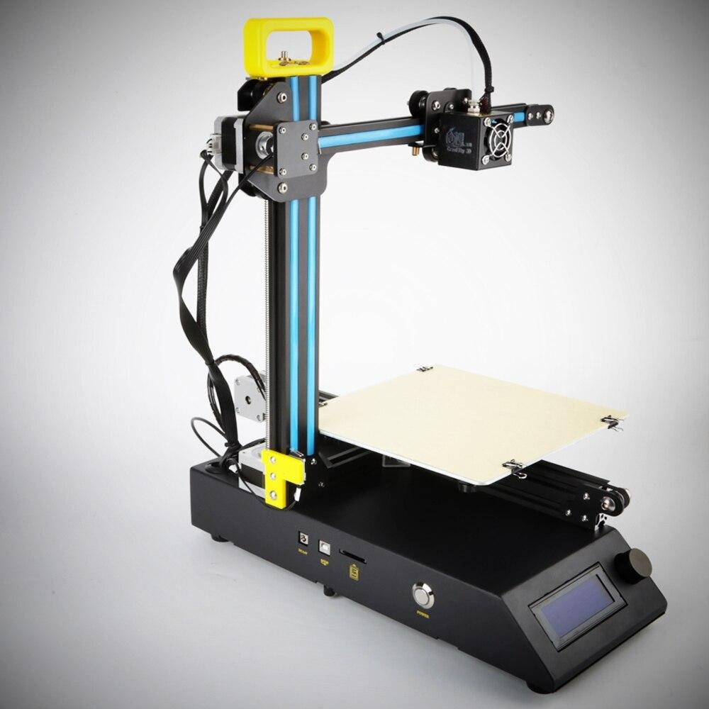 Сумасшедший большие продажи creality 3D FDM печатная CR-8 Металл V-слот Рамки 3D-принтеры комплект нити Поддержка принтер 3D лазерная гравировка