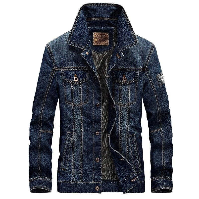 2018 Neue Frühling Und Herbst Denim Jacke Männer Revers Fashion Slim Mantel Casual Einfarbig Mantel Lassen Sie Unsere Waren In Die Welt Gehen