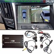 SZDALOS вождения слепой области системы просмотра/360 панорамный обзор камера системы/