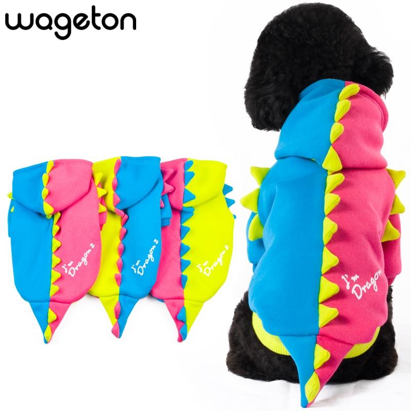 Designer Oblečení pro psy DRAGON 2 Velkoobchod a maloobchod Pet Puppy Cat Coat Hoodie Svetr T-Shirt Kostýmy -Mixed barvy Oblečení