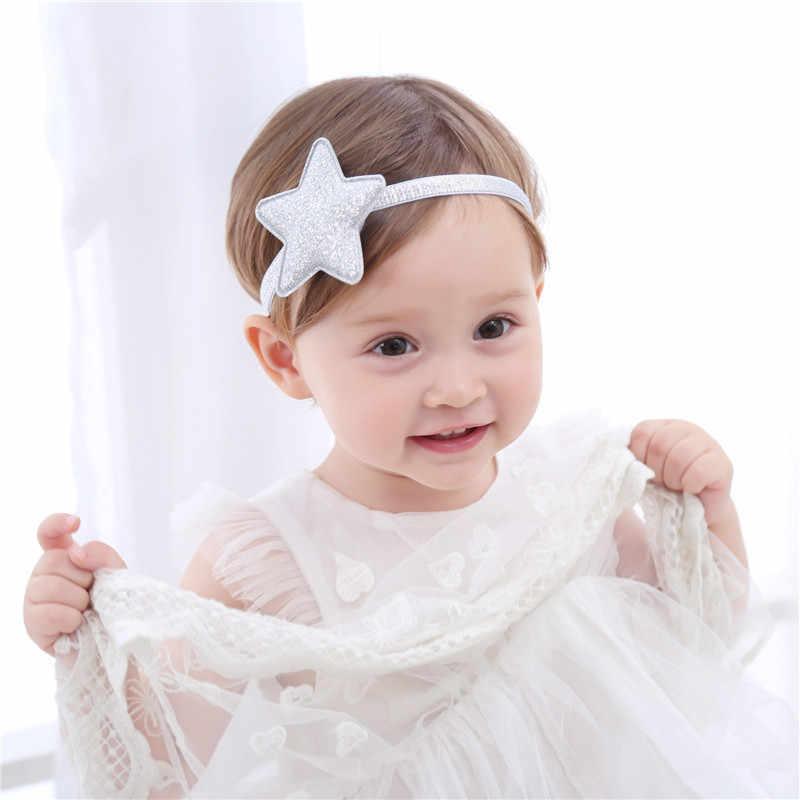 ... Naturalwell Kids Silver Star Headband Glitter Star Hairband Star Halo  Headband for Baby Girls Photo Prop d49351feca8