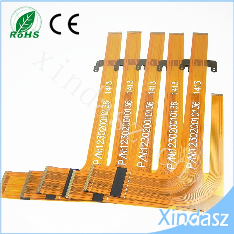 (5pcs/lot) Flat Cable Car Dvd Avh 3500 3550 3580 PN 123020010136 5pcs lot d10 0mmx30mmx100mm 2 flutes flat 100