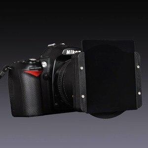 Image 3 - Zomei anillo adaptador de 49/52/55/58/62/67/72/77/82mm + soporte de filtro de 3 ranuras cuadradas de Metal, Kit de soporte para filtro Cokin P Series 83mm