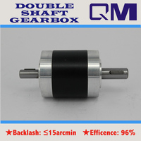 High Reliability Accelerated Planetary Gearbox Ratio 3 1 4 1 5 1 10 1 Double Output