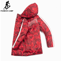 Pioneer Camp camouflage down jacket men brand clothing fashion thick warm duck down coat male quality red black AYR801430