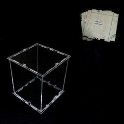 DIY 3D 8 ثانية مصغرة مصباح ليد Cubeeds الاكريليك القضية-ملاحظة: cubeeds مربع فقط مع استخدام لدينا 3d8 البسيطة cubeed ، حجم 12x12x h14 سم