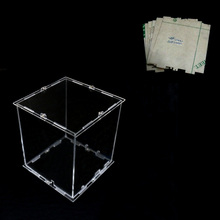 DIY 3D 8S mini LED Light Cubeeds Acrylic  case  note:cubeeds box  only with the use of our 3d8 mini cubeed,size is 12x12x h14 cm