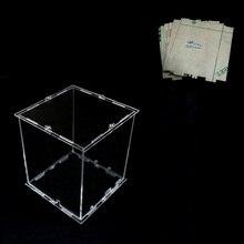 DIY 3D 8S mini LED Light Cubeeds akrylowa skrzynka uwaga: pudełko cubeeds tylko przy użyciu naszego 3d8 mini cubeed, rozmiar to 12x12x h14 cm