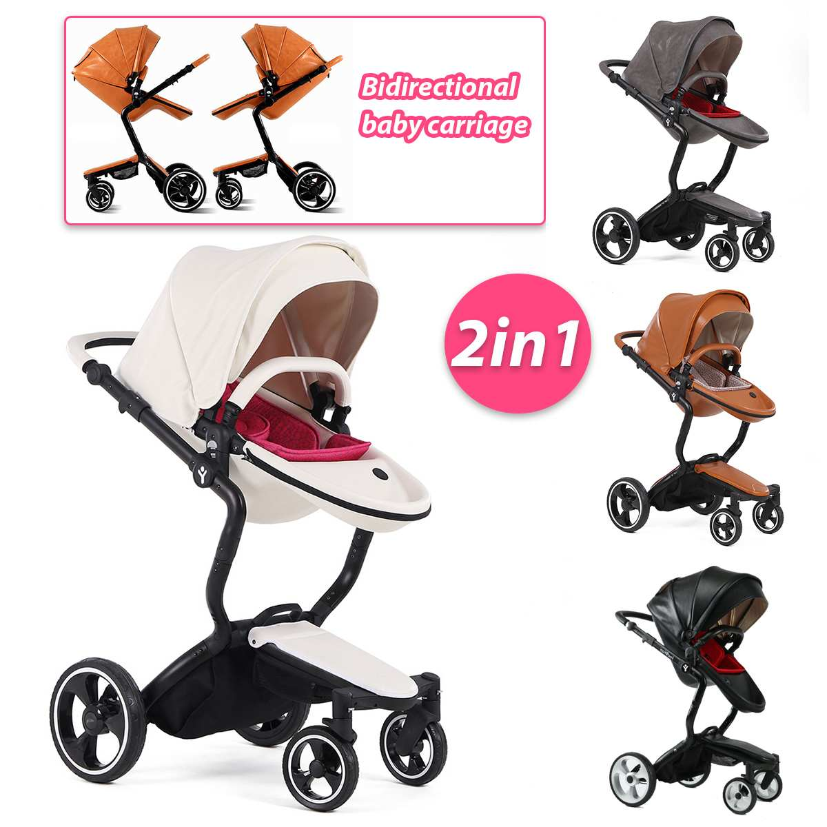 2 in 1 Multifunctional  Baby Foldable Stroller  Buggy Pram Kids Child Travel Pushchair Folding Hot Newborn2 in 1 Multifunctional  Baby Foldable Stroller  Buggy Pram Kids Child Travel Pushchair Folding Hot Newborn