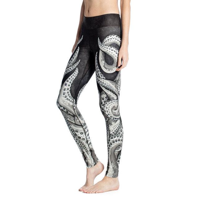 Nuevas Mujeres Leggings Moda Elástico Leggins de Fitness Legging Mujeres Entrenamiento Calzas Mujer Leggins 3D Imprimir Pantalones 2016 Mallas