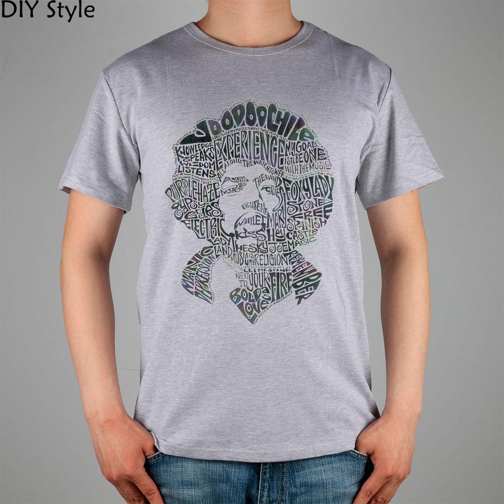 Rock Legend Jimi Hendrix Musician T Shirt Cotton Lycra Top