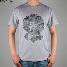 ROCK LEGEND JIMI HENDRIX MUSICIAN T-shirt cotton Lycra top 10967 Fashion Brand t shirt men new