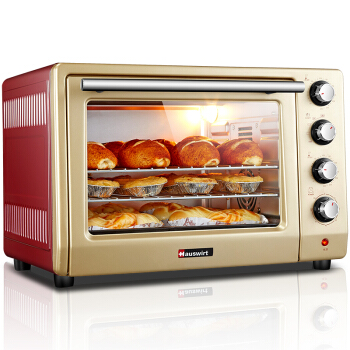 HO-405 Home Electric Oven Multifunction High Capacity 40L Up and Down Independent Temperature Control Kitchen Baking Tools high tmperature 300 degree t25 oven cooker light bulbs 240v ses e14 home kitchen