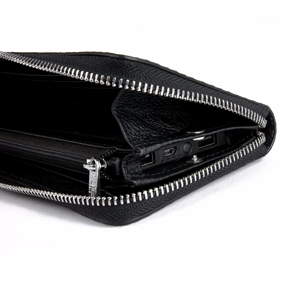 Modoker long Smart wallet men 39 s crocodile handbag luxury men 39 s leather wallet men business clutch bag zipper wallet in Wallets from Luggage amp Bags