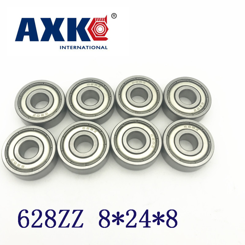 2018 New Rodamientos Rolamentos 10pcs Free Shipping 628zz Abec5 8x24x8mm Miniature Deep Groove Ball Bearing 8*24*8mm 628 Zz free shipping 10pcs 100% new cxa1583m page 8