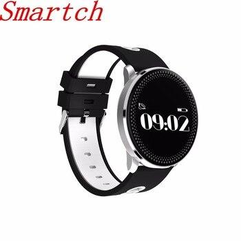 696 Bluetooth SmartBand Смарт Браслет Фитнес трекер монитор сердечного ритма артериального давления PK Сяо Ми группа Mi band 2 cf007