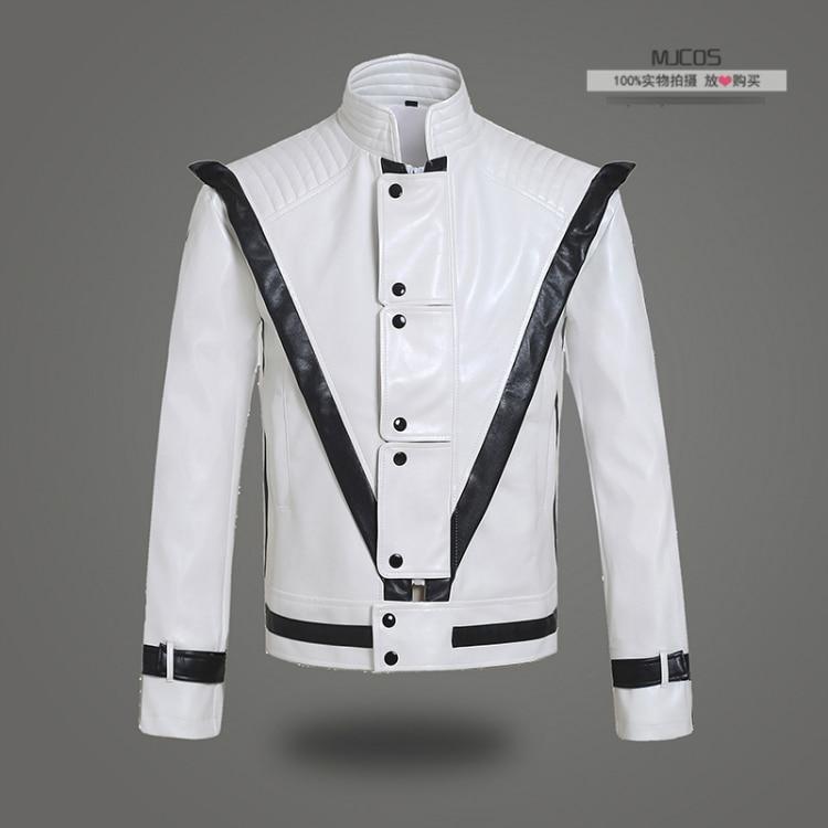 Michael Jackson Thriller Billie Jean DELL UNITÀ di elaborazione Giacche  mens maschio della chiusura lampo 418b7d8e40d9
