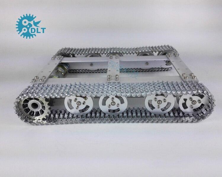 T60 Metal Crawler Tanks Chassis Intelligent Robot Model with 37 Motor ontology based crawler